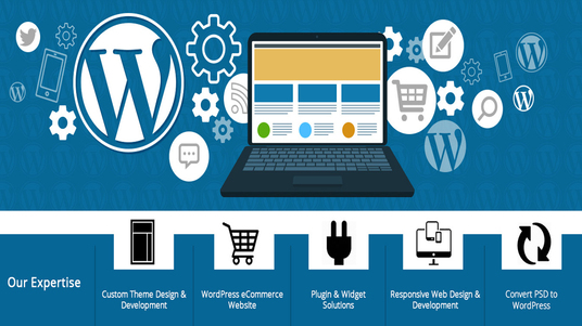build & design wordpress responsive E Commerce website