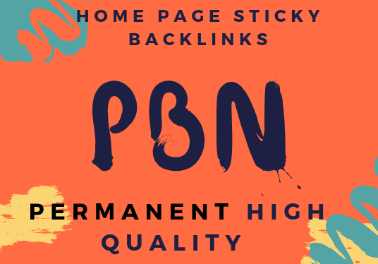 I will Do 8 High Tf Cf Permanent Homepage Pbn Backlinks