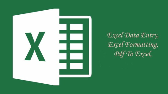I will do Excel Spreadsheet data entry