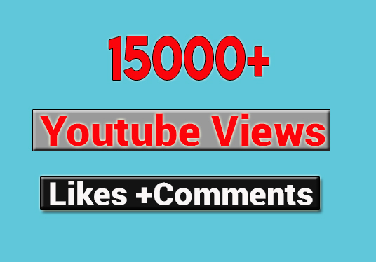 I will provide 15000 youtube music video views with engagements