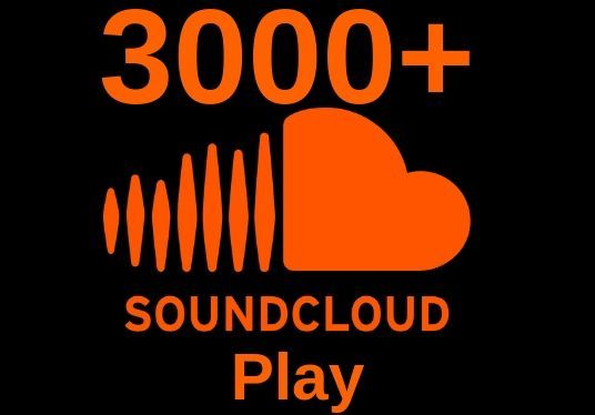 I will Provide 3000+ organic Soundcloud plays