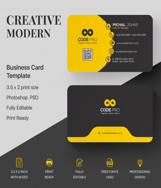I will design a Killer and High-quality business card