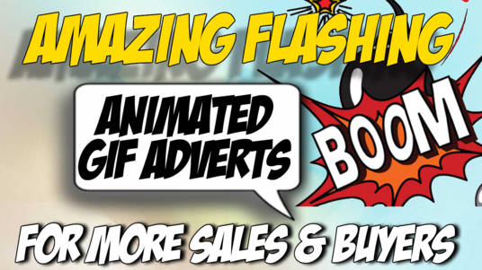 I will design a professional animated gif banner advert for your company or business