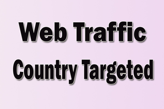 I will Provide 20,000  USA, Canada, UK,  Australia Web Traffic Visitors