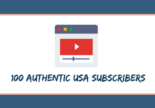 I will give you 100 USA subscribers