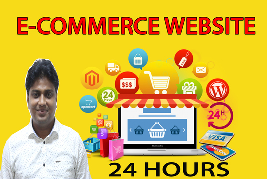 I will design wordpress ecommerce website with woocommerce
