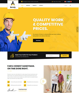 create a Website for your Handyman business