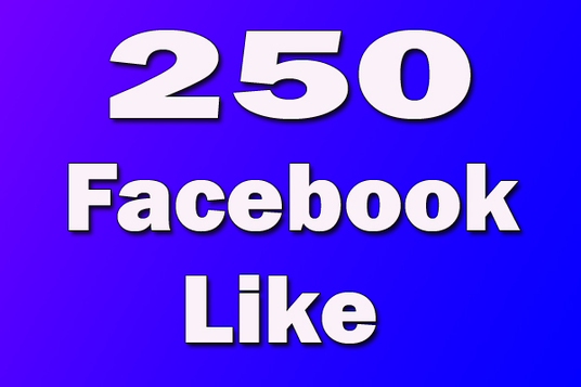I will Add 250+ Real Facebook Likes