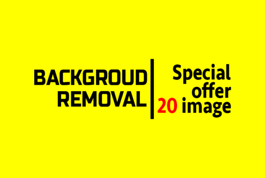 I will do background removal for photoproduct within a 24 hours