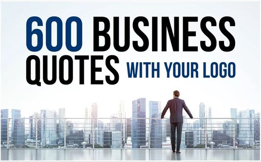 I will create business quotes with your logo