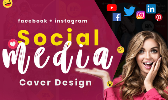 I will design Creative Instagram covers, Facebook covers