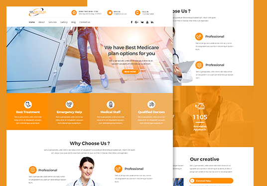 I will Design Modern Responsive Website