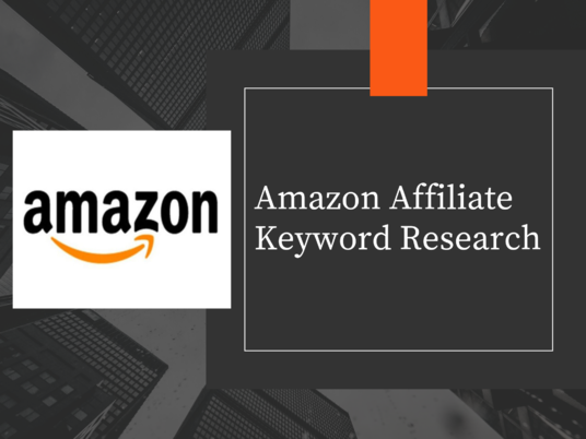 I will do Amazon Affiliate keyword research and competitor analysis