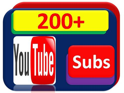 add 250 YouTube Non-drop Subscribers with fast delivery