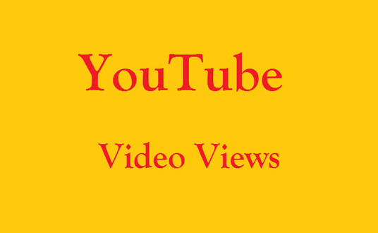 I will add 4K You Tube Video Views Lifetime Guaranteed