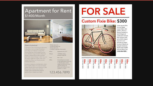 Create Highly professional Flyer and poster Design