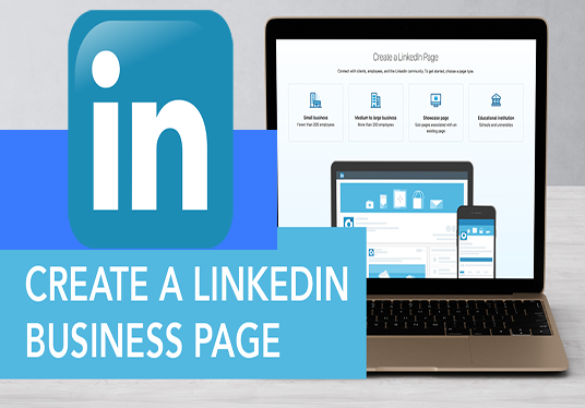 I will create a linkedin business page