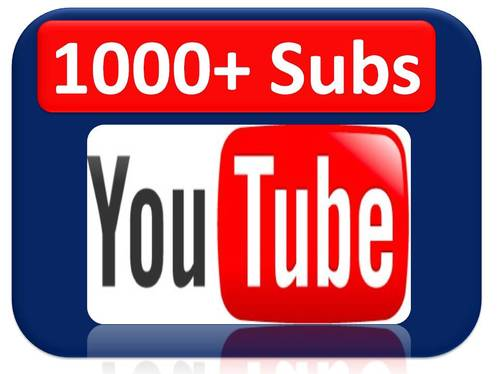 Rank Your Channel with 1000 + real Subscribers with Non-drop and fast delivery