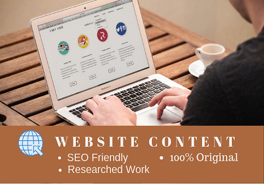 I will Write SEO Friendly Content For Your Website