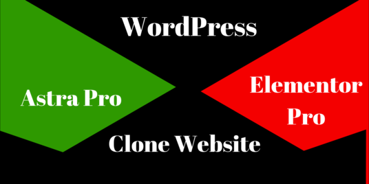 I will design best quality  website using Astra and Elementor pro