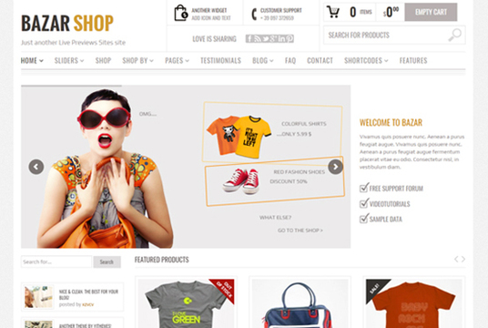I will create a Professional Responsive Ecommerce Website