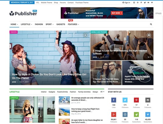 I will design beautiful WordPress blog full customization