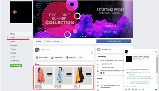 Create Shop on Facebook For Your Business