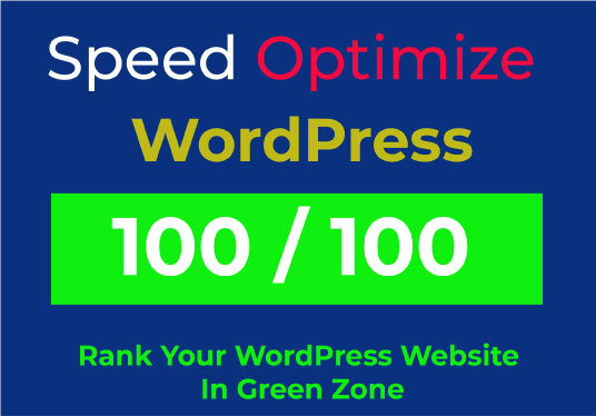I will speed up your WordPress website