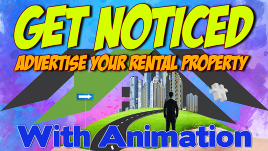 design two animated gif property rental advertisements for you to promote on social media