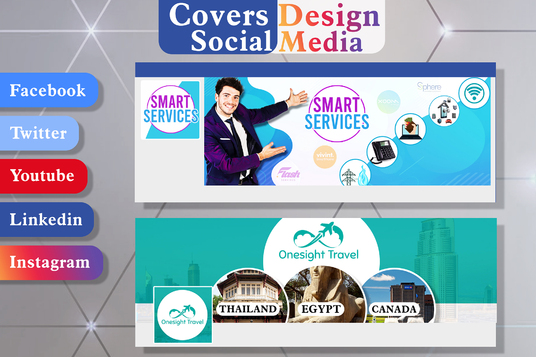 I will design social media eye catching Banner