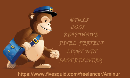design all mejor client supported responsive mailchimp email template