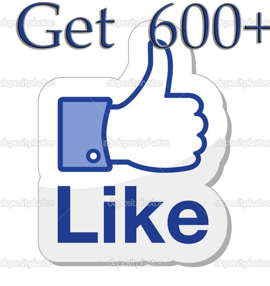I will Add 600+ Real Facebook Likes