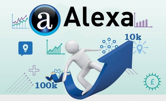 I will Improve Your USA Alexa Ranking below 75k