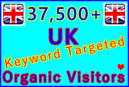 I will Drive 37,500 Keyword Targeted UK Organic Visitors from Search Engines for 30 Days