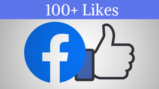 I will provide 100+ facebook likes