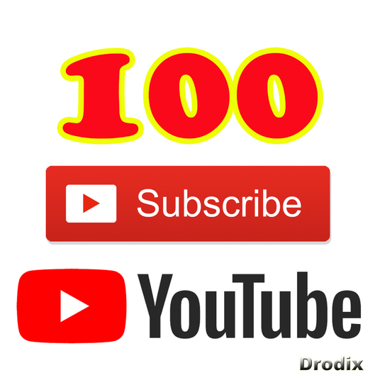 I will Add for You 100 Real YouTube Subscribers Non Drop