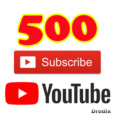 Add for You 500 Real YouTube Subscribers Non Drop