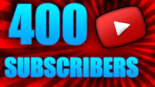 I will Give You 400+ Organic YouTube Subscribers