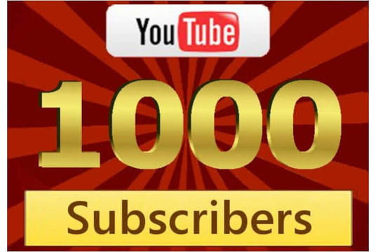 I will Provide 1000+  Active YouTube Subscribers
