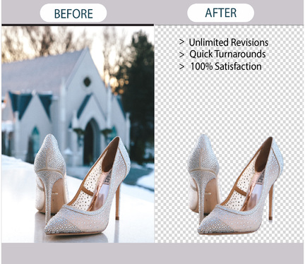 Professionally remove  Background from your Images