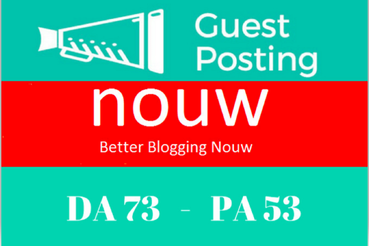 I will write and Publish Guest post on Nouw.com with dofollow Backlink DA73