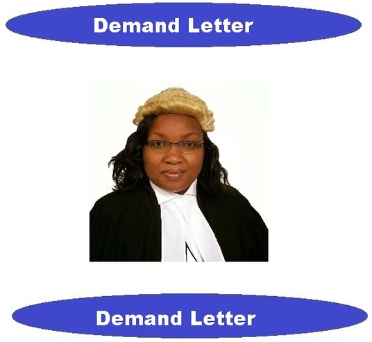 I will write a legal demand letter