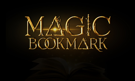 I will bring your book to life with a magic bookmark