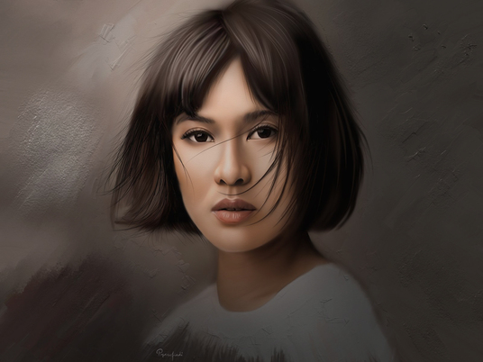 I will paint you a realistic digital portrait