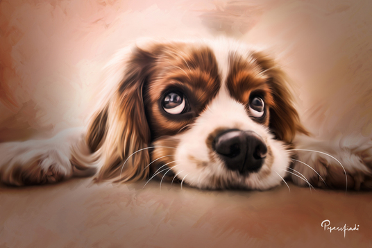 I will turn your pet portrait into digital painting