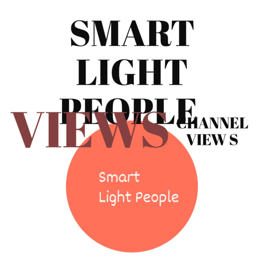 I will give you 1000 views on your Smart Light People Channel
