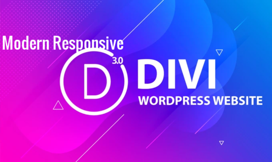 I will build Divi WordPress Website Using Divi Theme and Divi Page Builder