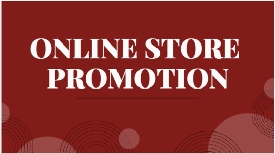 promote your online store