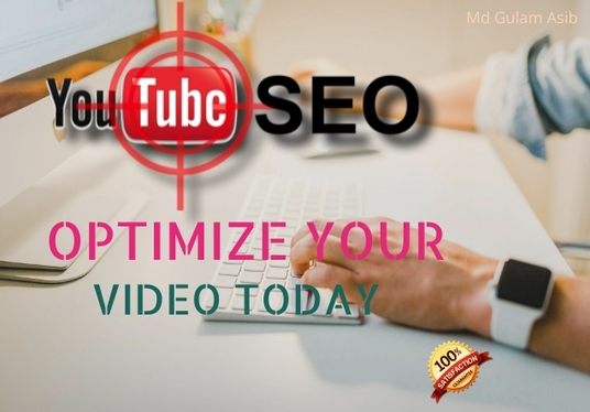 I will do perfect YouTube video SEO