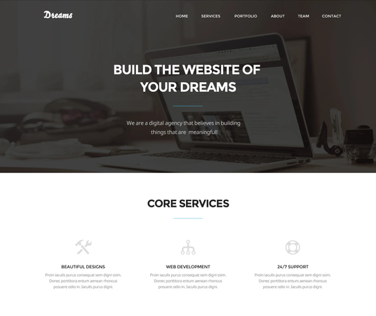 I will design responsive  website from PSD  to HTML ,CSS